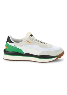 Puma Style Rider Leather, Suede & Mesh Sneakers