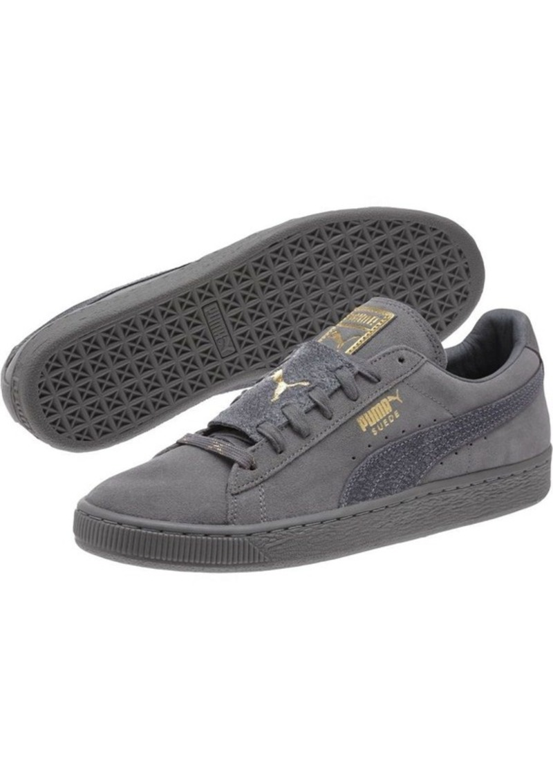 purchase cheap cf154 2188c Puma Suede Classic Epic Snake Gold Men's Sneakers Now $44.99