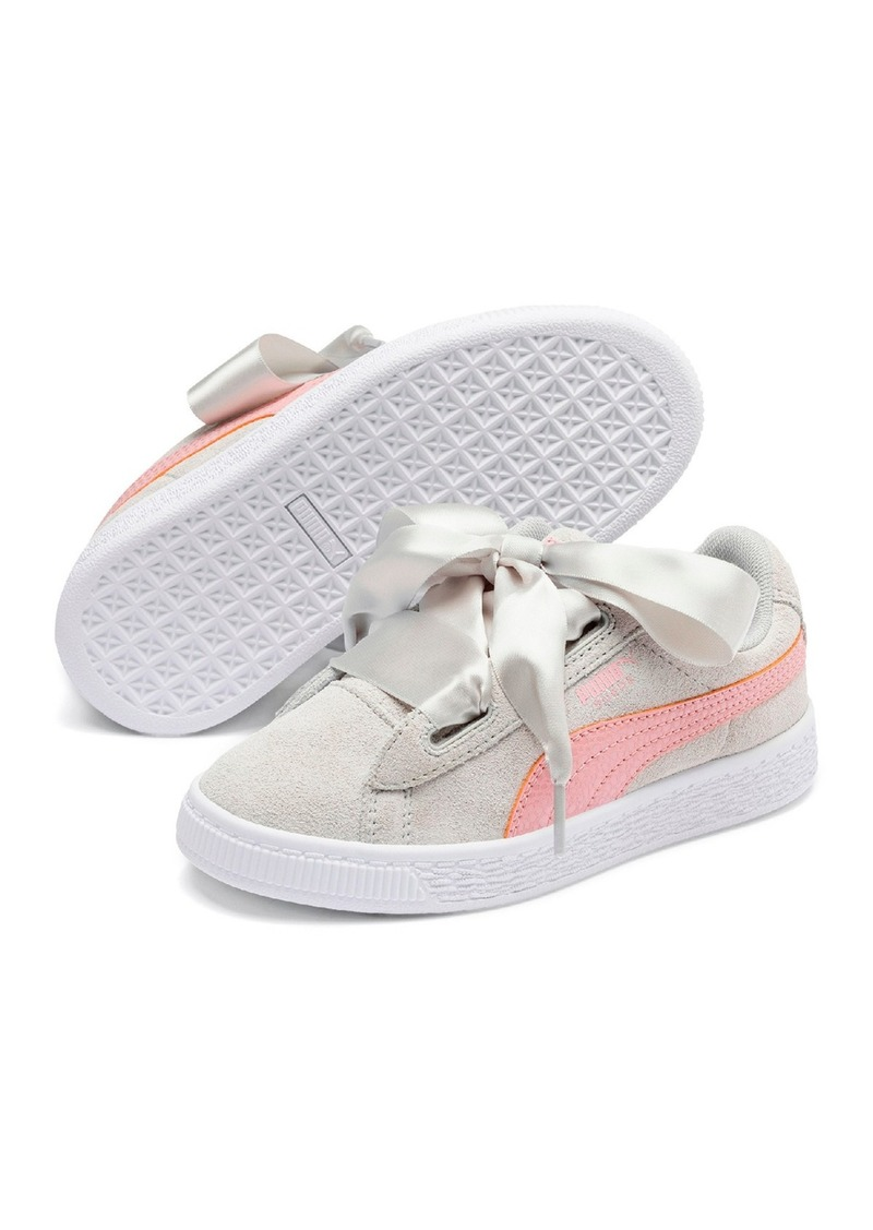 Puma Suede Heart Circles PS Sneaker (Toddler & Little Kid)