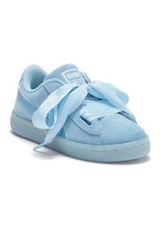 Puma Suede Heart Glitz Sneaker (Little Kid)