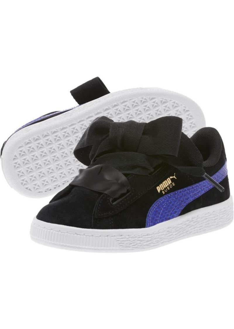 8c44b3d8d2c4 Puma Suede Heart Preschool Sneakers