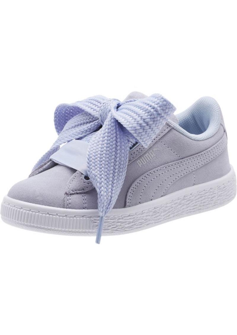 efe08c61207 Puma Suede Heart Preschool Sneakers