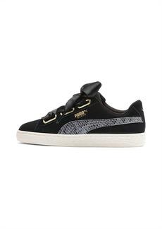 Puma Suede Heart Snake Lux Women's Sneakers