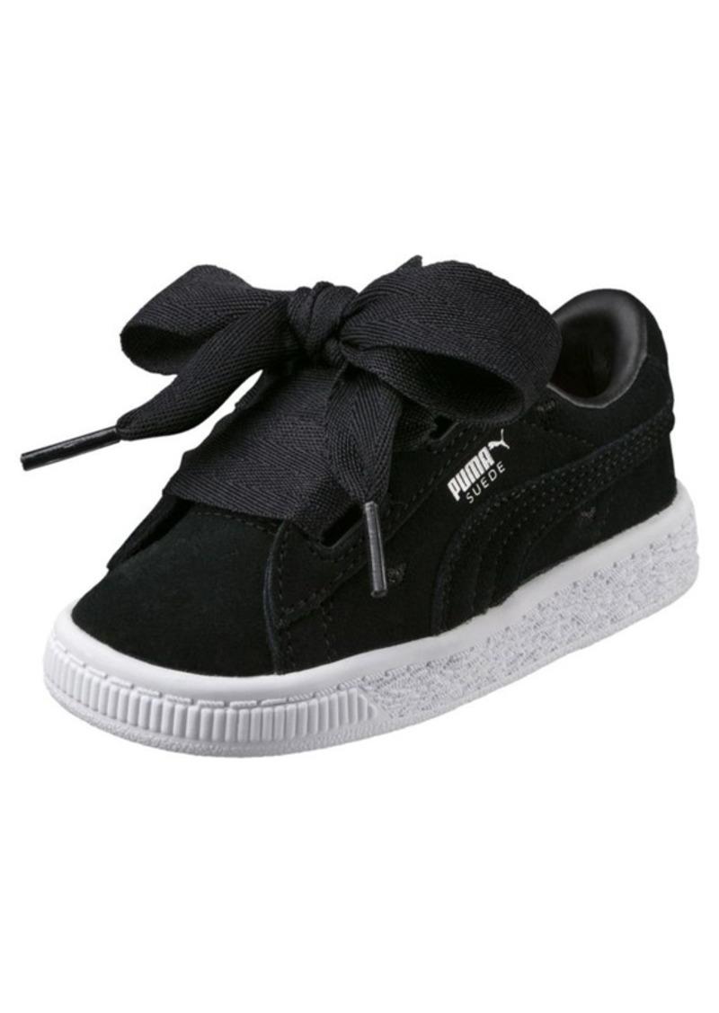 4d1698b9157 Puma Suede Heart Valentine Girls  Sneakers