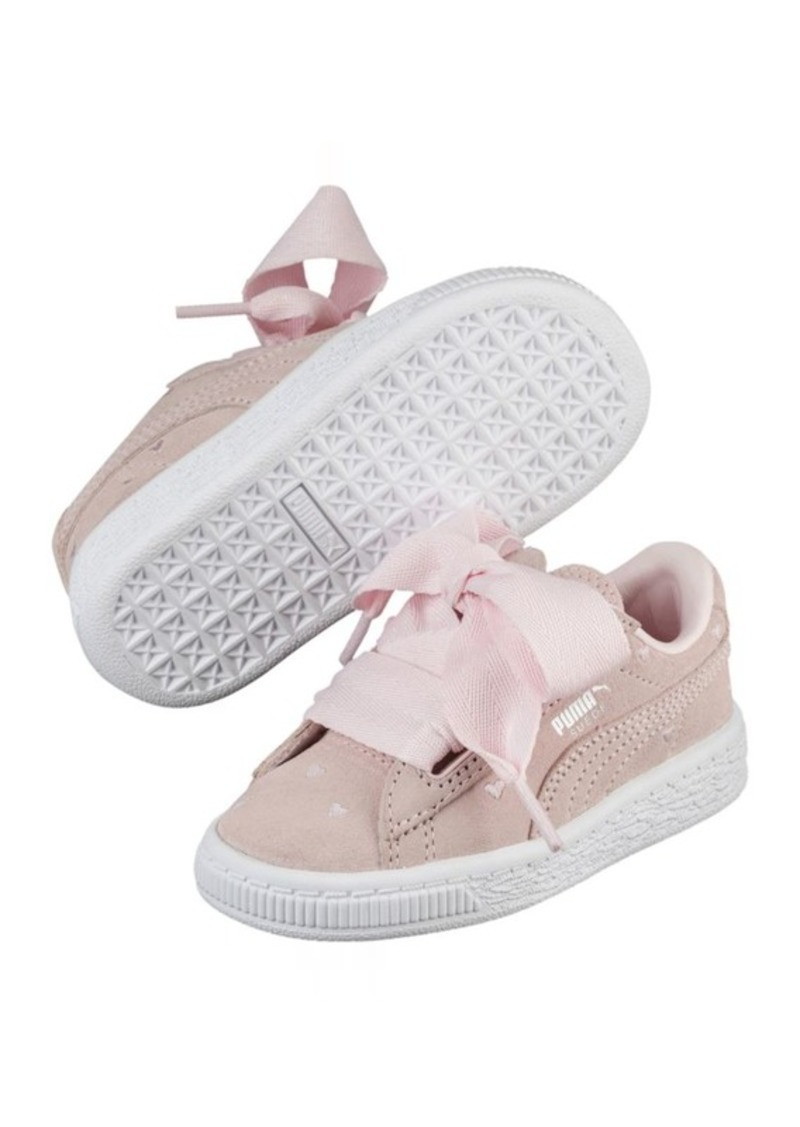 separation shoes 1b36e 564bb Puma Suede Heart Valentine Girls' Sneakers | Shoes