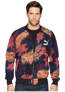 Puma Summer Tropical Varsity Jacket AOP