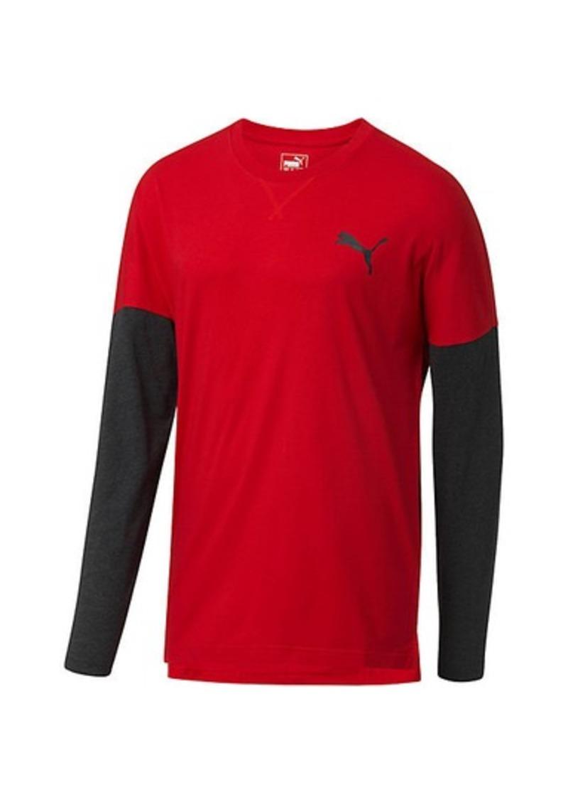 Puma Tailgate Long Sleeve T-Shirt