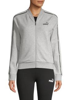Puma Tape Full-Zip Heathered Track Jacket