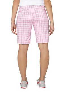 Tech Pattern Golf Bermuda Shorts