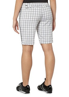 Tech Pattern Golf Bermuda Shorts