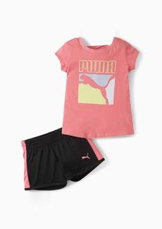 Puma Tee+ Short Infant + Toddler Set