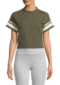 Puma Tipping Cropped Tee