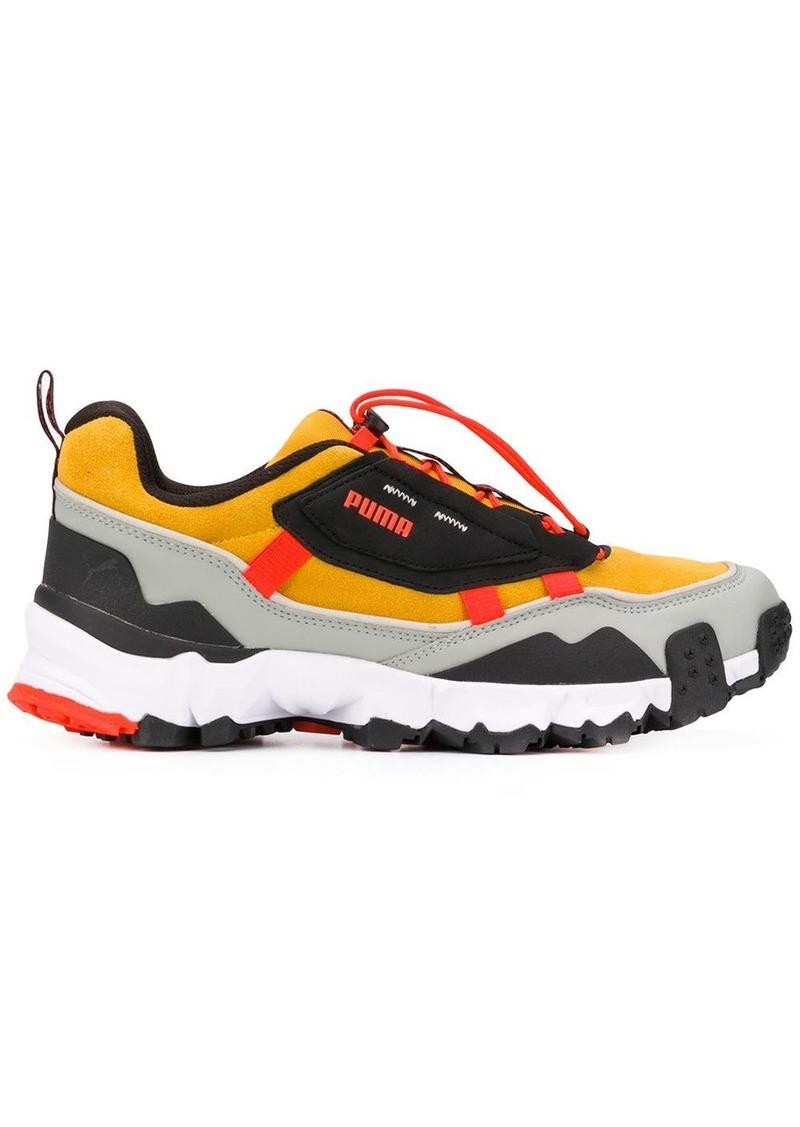 Puma Trailfox colour-block sneakers