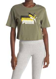 Puma Triple Threat Cropped Tee