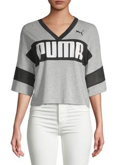 Puma Urban Sports Cropped Tee