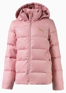 Puma Velour Girls' Down Jacket JR