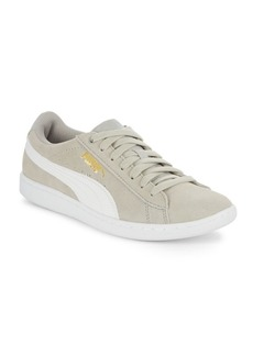 Puma Vikky Lace-Up Round Toe Sneakers