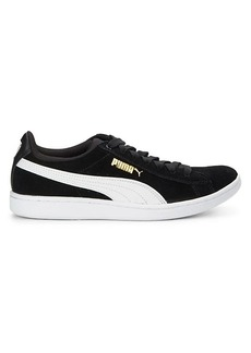 Puma Vikky Suede Lace-Up Sneakers