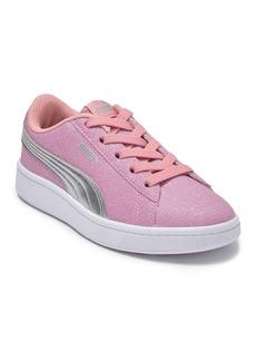 Puma Vikky V2 Glitz AC Sneaker (Little Kid)