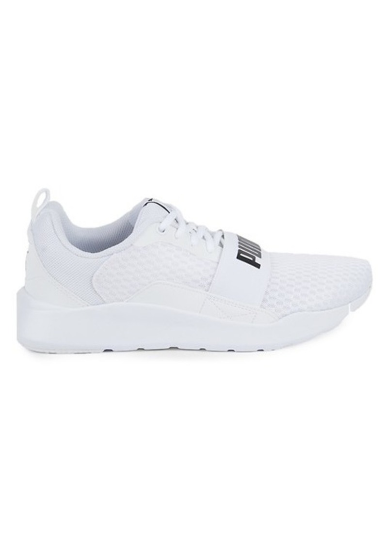 Puma Wired Logo Strap Sneakers
