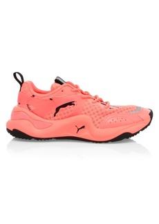 Puma Women's Rise Neon Sneakers