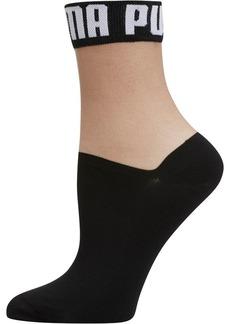 Puma Wordmark Women's Low Crew Socks [1 Pair]