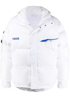 Puma x Ader Error logo puffer jacket