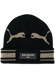 Puma x Balmain knitted beanie