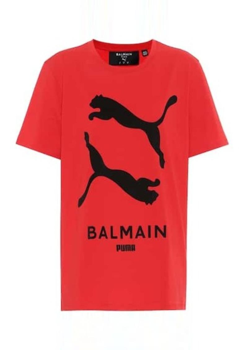 Puma x Balmain printed cotton T-shirt