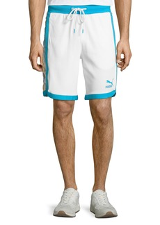 Puma x Coogi Men's Contrast-Trim Bermuda Shorts