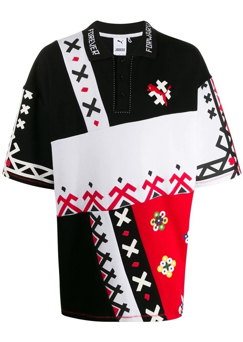 Puma x Jahnkoy Forever polo shirt