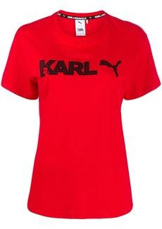 Puma x Karl Lagerfeld printed T-shirt