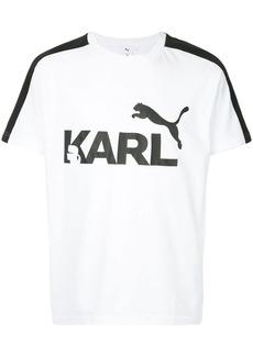 Puma X Karl logo T-shirt