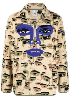 Puma x KidSuper half-zip sweatshirt