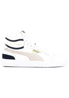 Puma x ralph sampson mid og leather trainers