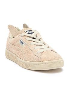 Puma x tinycottons Basket Furry Sneaker (Little Kid & Big Kid)