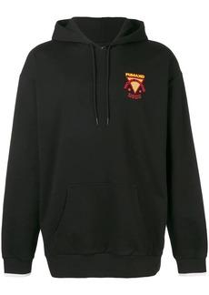 Puma X XO logo printed hoodie
