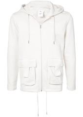 Puma zipped hooded sweatshirt