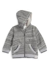 Pumpkin Patch Hooded Zip Sweater (Baby Boys)