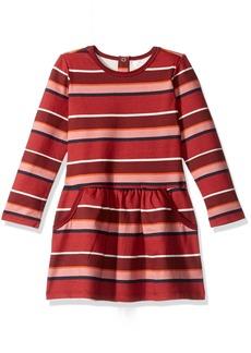 Pumpkin Patch Little Girls' Stripe Fleece Dress