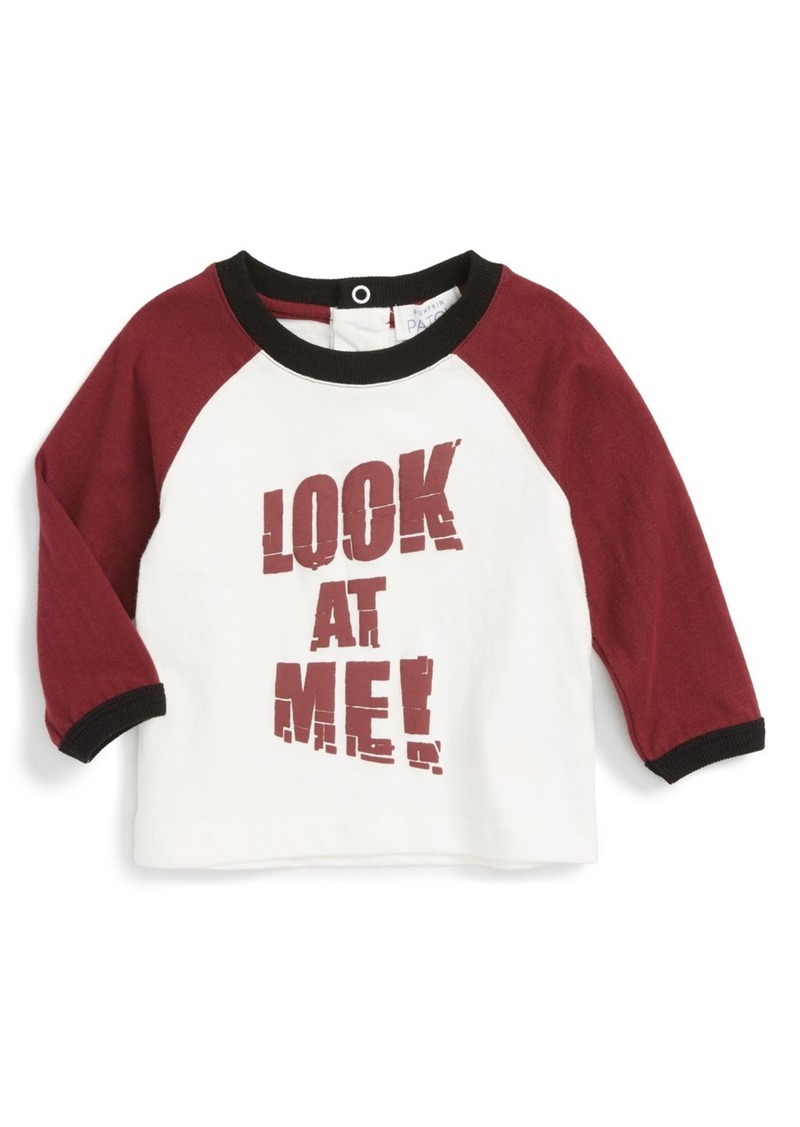 Pumpkin Patch Look at Me T-Shirt (Baby Boys)