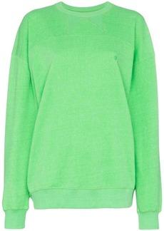 pushBUTTON classic oversized sweatshirt