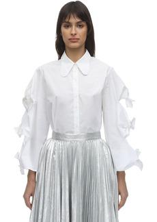 pushBUTTON Cotton Shirt W/ Bows