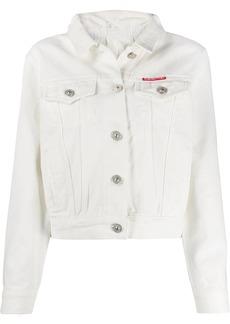 pushBUTTON slim-fit denim jacket