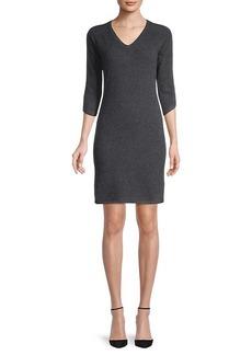 Qi Cashmere Cashmere Knit Dress