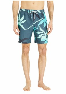 """Quiksilver 18"""" Gully Floral Volley"""