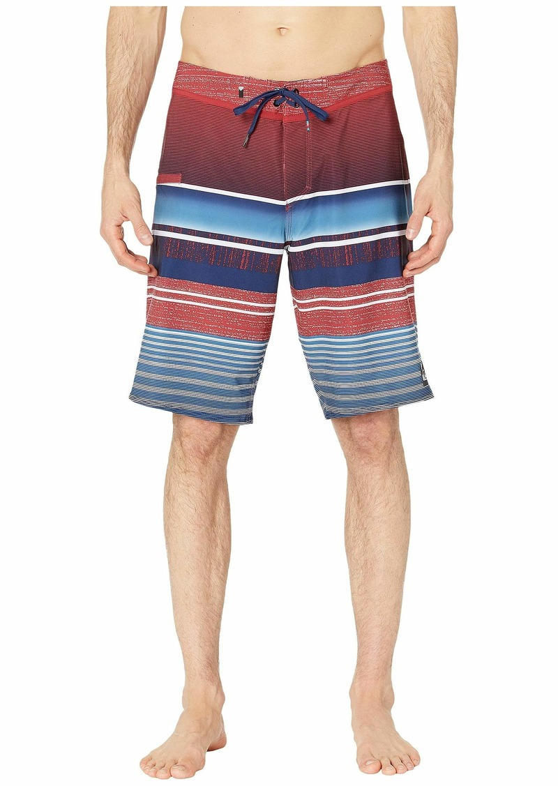 "Quiksilver 21"" Everyday Stripe Vee 2.0 Boardshorts Swim Trunks"