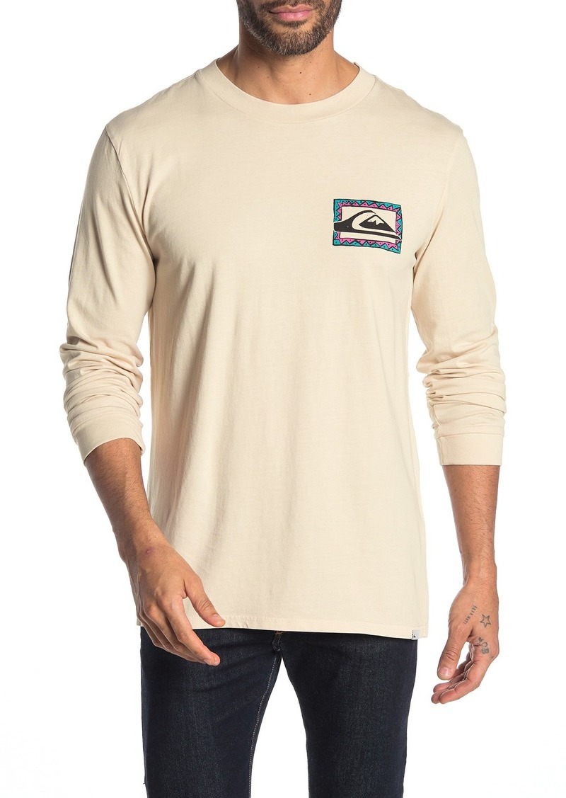 Quiksilver 90's Fit Long Sleeve Tasty Vibes Tee