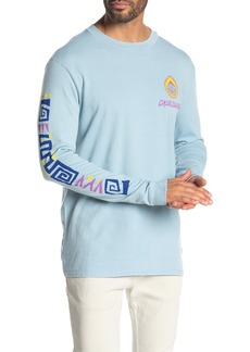 Quiksilver 90's Fit OG Paradise Long Sleeve Tee