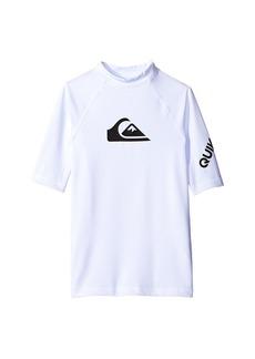 Quiksilver All Time Short Sleeve Shirt (Big Kids)
